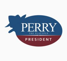 Perry the Platypus for President by peabody00