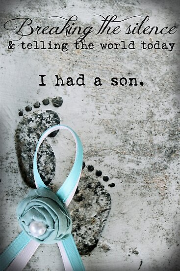 Breaking the Silence. I had a Son. by Franchesca Cox