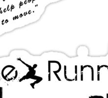 Free Running Sticker