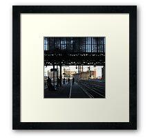 Stranger than fiction - Amsterdam CS Framed Print