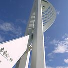 Spinnaker Tower, Gunwharf Quays, Portsmouth, south coast of England by Philip Mitchell