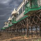 HDR at St annes Pier Lancs by blueandwhite80