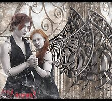Gothic Photography Series 198 by Ian Sokoliwski