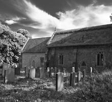 Coney Weston church by DaleReynolds
