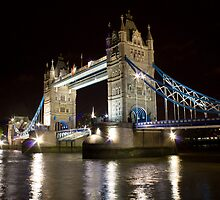 Tower Bridge By Night by Mark Taylor