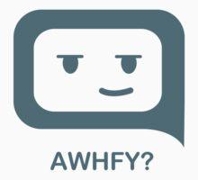 TXT T's_AWHFY? (Are We Having Fun Yet?) by Michael Bruza