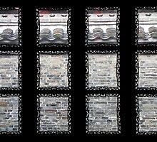 Window, Wu Dao Tai, Yangzhou by DaveLambert