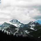 Moody Mountains, Banff Alberta Canada by Laura-Lise Wong