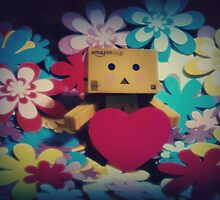 Danbo Love by Laura-Lise Wong