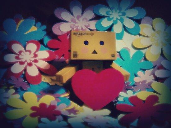 Danbo Love by Laura-Lise Wong