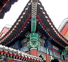 Roof Detail, Summer Palace, Beijing by DaveLambert