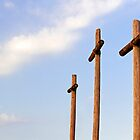 Three Rugged Crosses by Kenneth Keifer