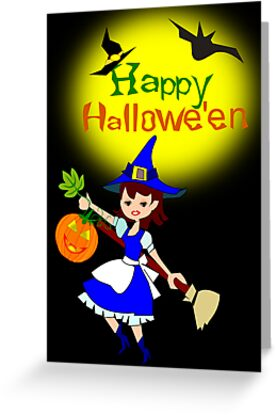 Halloween  Card (3675 Views) by aldona