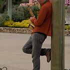 Sax man by MarthaBurns