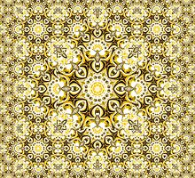 MB Quadrium Escher Tessellation  by Hugh Fathers