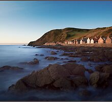 Crovie, Aberdeenshire, Scottish Highlands by Andrew Watson