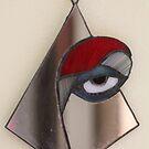 Red Eye through the Mirror by cishvilli