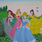 Disney princess painting by machka