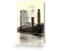 Bridgewater Place, Leeds. Greeting Card