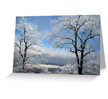 Distant Storms Greeting Card