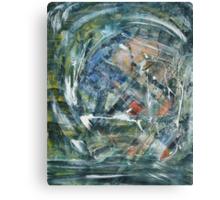 Sinking Ship, Shot Look through the Porthole - SSS LP Canvas Print