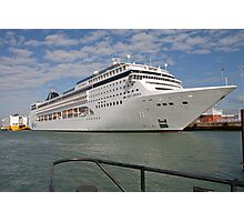 Msc Opera docked at Southampton, September 2011 Photographic Print