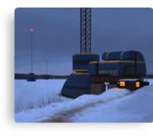 Omväxlare och Nodmaster, Närke Väst Energi Canvas Print