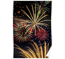 Spectacular Pyrotechnic Display Poster