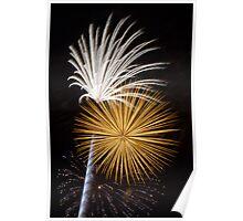 Brilliant, Dazzling Fireworks Poster