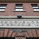 Bluestone Victorian School Facade, Abbotsford by Jane McDougall