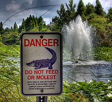 DANGER - Do Not Feed! by Edvin  Milkunic
