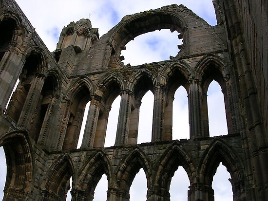 Elgin Cathedral, Scotland (2) by lezvee