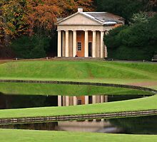 The Temple of Piety,  Studley Royal Water Garden. by Alison Scotland