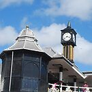 Brighton Pier Clock by Geraldine Miller