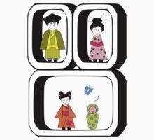 ★ Japanese Family - Japan Spirit Dolls ★ Kids Clothes