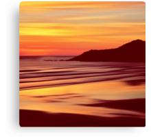 Sleep Tight Sunset Canvas Print
