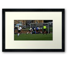 091611 082 0 field hockey Framed Print