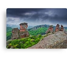 Belogradchik Rocks, Bulgaria Canvas Print
