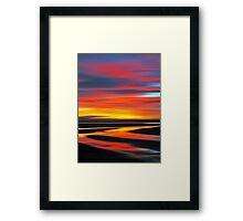Wetlands Twilight Framed Print