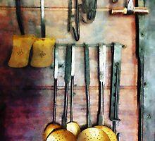 Ladles and Spatulas by Susan Savad