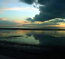 dramatic sunset by michelle meenawong