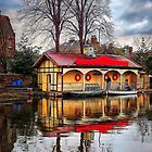 Boathouse Reflected by HJIrvine