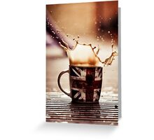 (Liquid)Deja Brew:  The feeling that you've had this coffee before Greeting Card