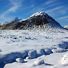 Buachille Etive Mor, Glencoe, Scotland by David Alexander Elder