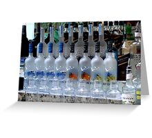 Pool Bar - Grey Goose anyone?  ^ Greeting Card