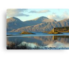Castle Stalker, Highlands, Scotland Canvas Print