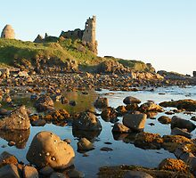 Dunure Castle, Ayrshire, Scotland by David Alexander Elder