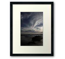 Blue skies 9337 Framed Print