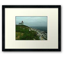 Port Bickerton Lighthouse Framed Print