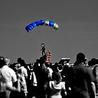 Parachute Flag Selective Coloring by Christopher Hanke
